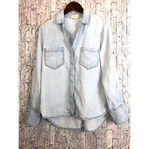 Cloth Stone Chambray button shirt